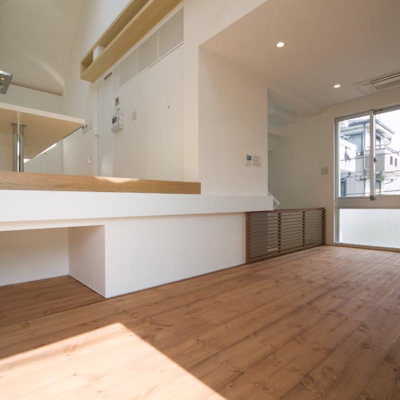 スキップフロアの家/白金台