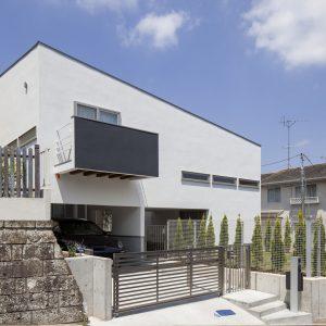 スロープの家・卍 犬と暮らす家