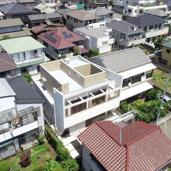 HOUSE with SLOPE・CUBE