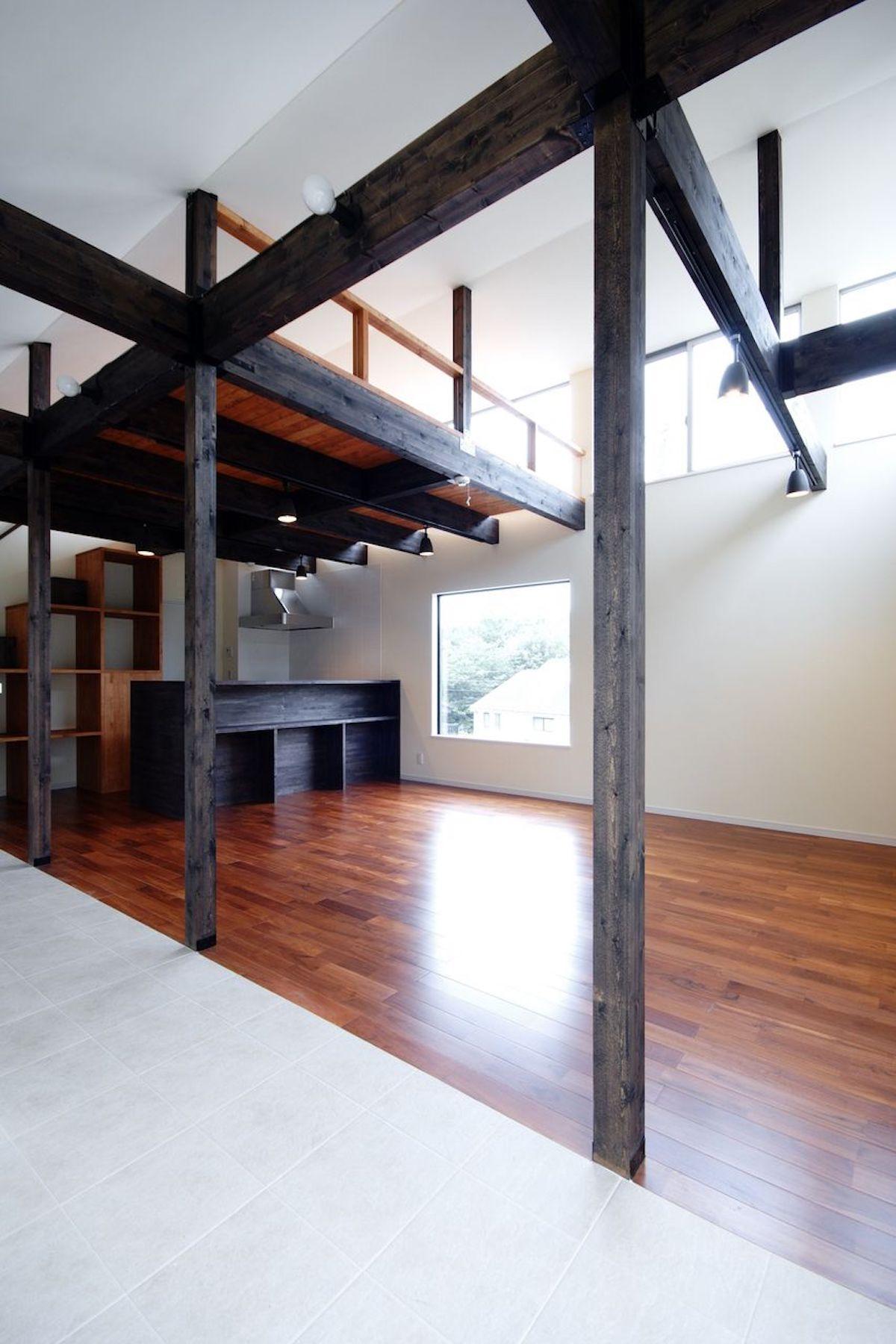 善福寺川の家