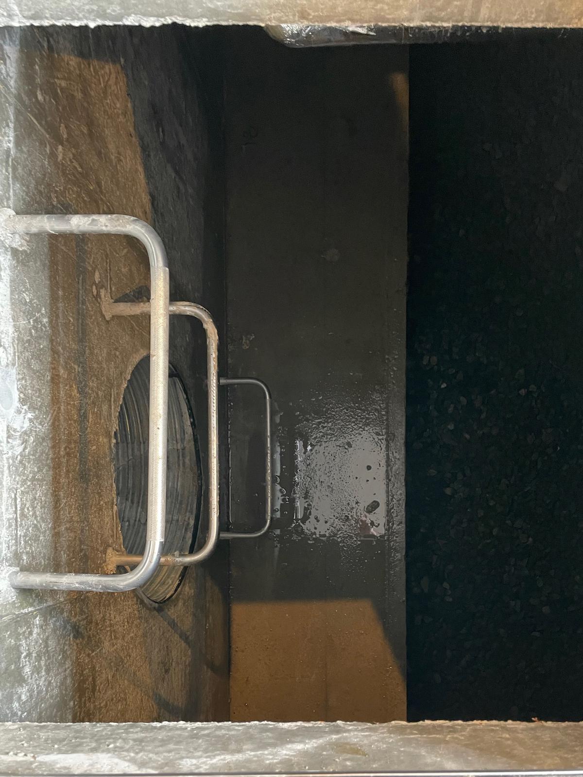 ピット内雨水浸透槽